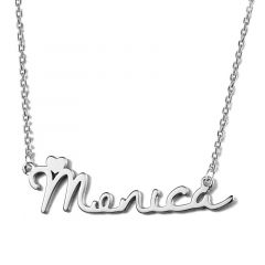 """Love Story"" Personalized Name Necklace"