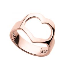 """Our Love"" Personalized Engraving Ring"