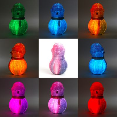 Touch 16 Colors-Snowman Light