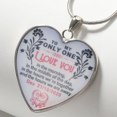 To My Only One Heart Necklace