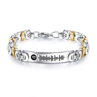 Scannable Spotify Code Custom Music Song Bracelet
